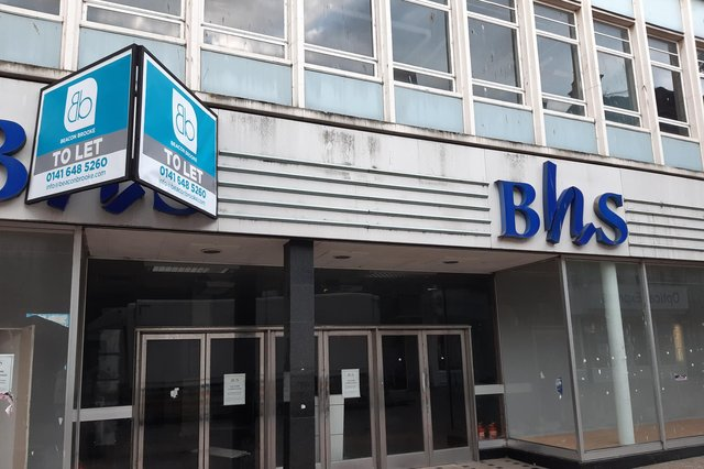 BHs opened its first Scottish store in Kirkcaldy in 1964