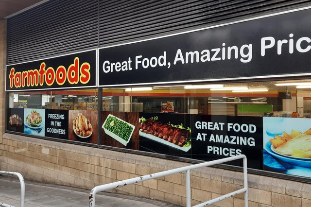Farmfoods at The Postings in Kirkcaldy, is set to close its shop at the end of June (Pic: Fife Free Press)