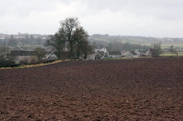 The Cupar North land.