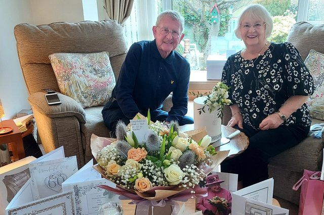 Peter and Rena Cargill have been celebrating 60 years of marriage. They received lots of nice cards including a special one from Her Majesty The Queen.