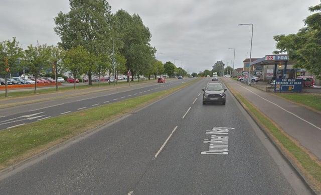 Hutton admitted driving dangerously on Dunnikier Way, Kirkcaldy.