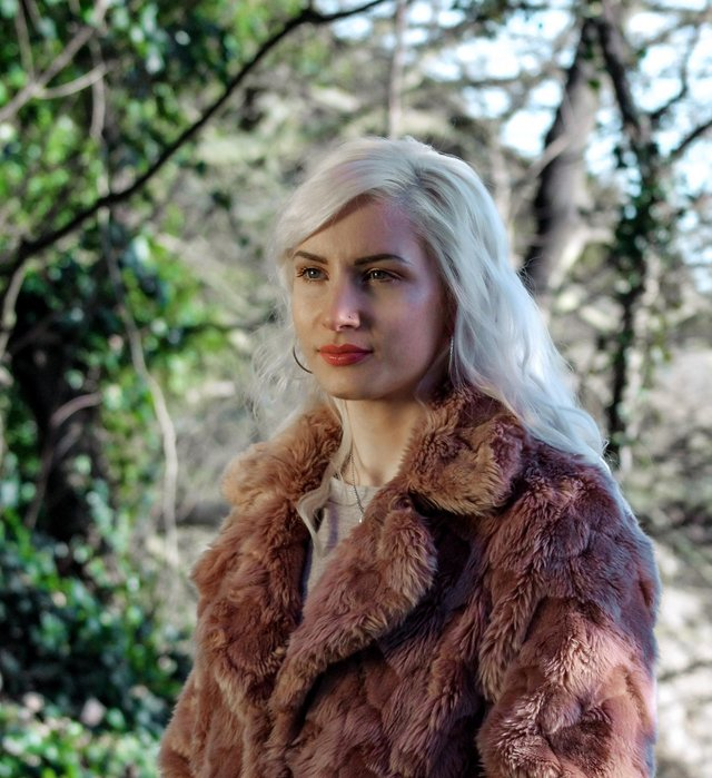 Kirkcaldy based singer/songwriter Holly Roseanna is launching her moving new single 'Eden' on May 7. Pic credit: E Collins Creates.