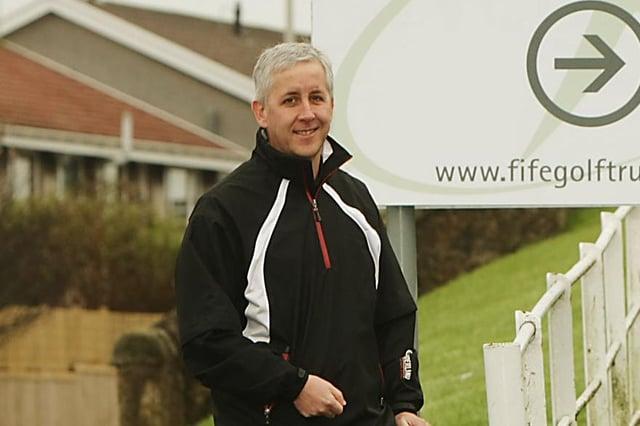 Alistair MacGregor, chief executive of Fife Golf Trust