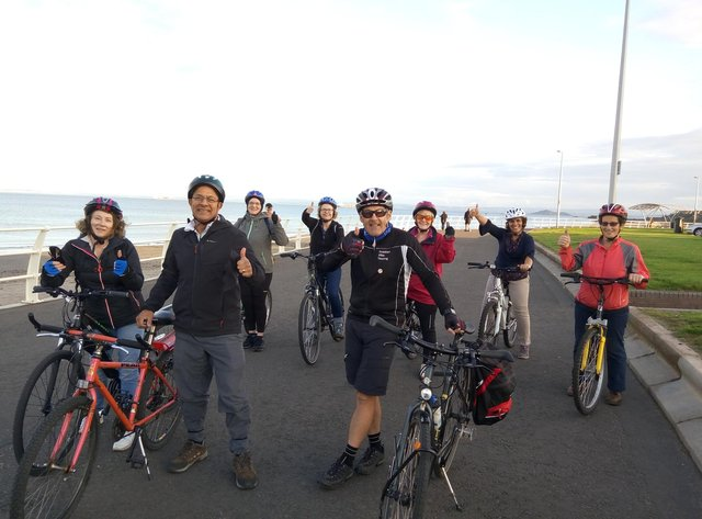 Social bike rides are just one of the activities which Greener Kirkcaldy organises for locals.