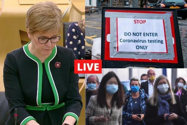 Live updates on Covid-19 in Scotland, the UK, and around the world.