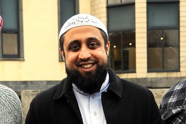 Imam Mansoor Mahmood. Pic: Fife Photo Agency.
