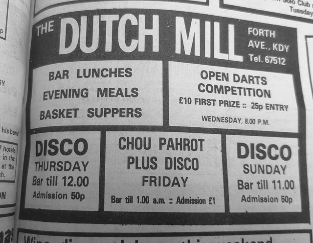 Ah, the legendary Dutch Mill - many great nights and meals out were enjoyed at the bar/live music venue which, sadly, no longer exists. The site became a church and now Aldi.