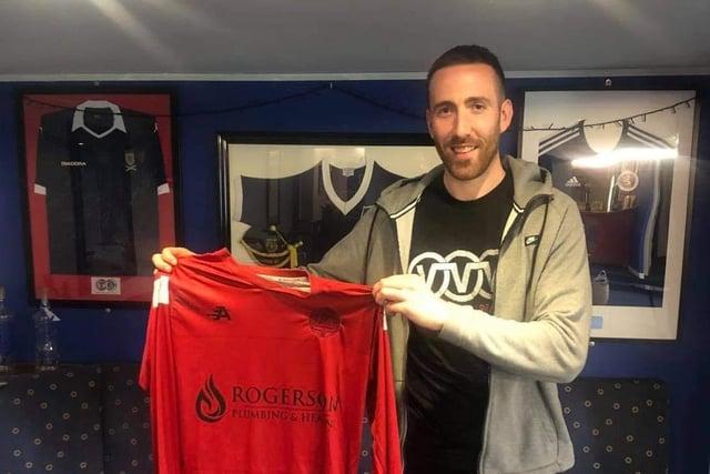 New Dundonald goalkeeper Kyle Marley