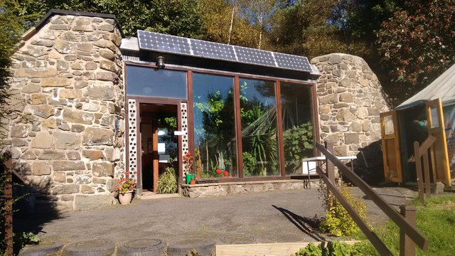 The Earthship Fife which has been at Kinghorn Loch for nearly two decades.