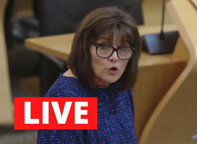 Health Secretary Jeane Freeman leads Friday's Scottish Government Covid-19 briefing.