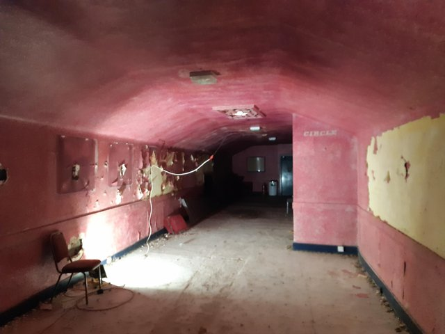 Inside Kirkcaldy's old ABC CInema which closed in 2000
