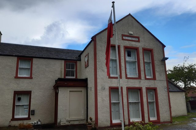 The Polish Club on Bennochy Road (Pic: Fife Free Press)