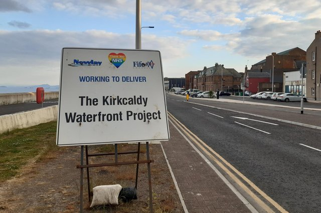 Phase II of the waterfront road transformation is set to get underway with £1m of funding