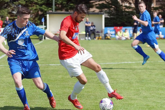 Tayport's Dayle Robertson had helped the Canniepairt club make a terrific start to the a season which has now been declared null and void. Stock image