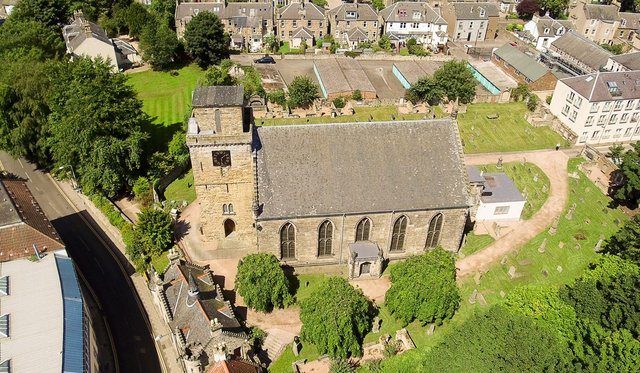 Guided tours are available at Kirkcaldy Old Kirk this summer.