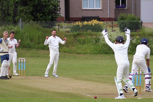 Gareth Miles took five wickets in his second game for Largo's seconds
