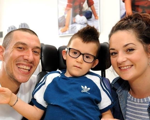 The recent online fundraiser has collected an incredible £2745 for Gino's Journey. Pic: Fife Photo Agency.