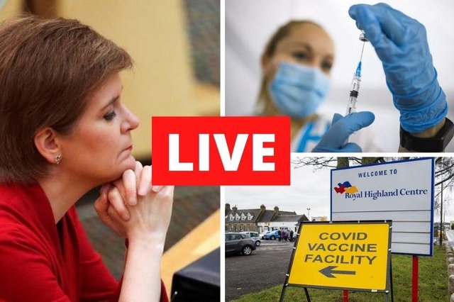 Coronavirus in Scotland LIVE: Follow here for all of Monday's updates