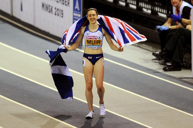 Laura Muir set a new Scottish record at her final meet before heading to Tokyo