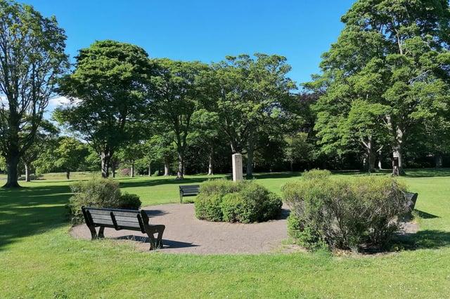 The incident happened at Beveridge Park, Kirkcaldy