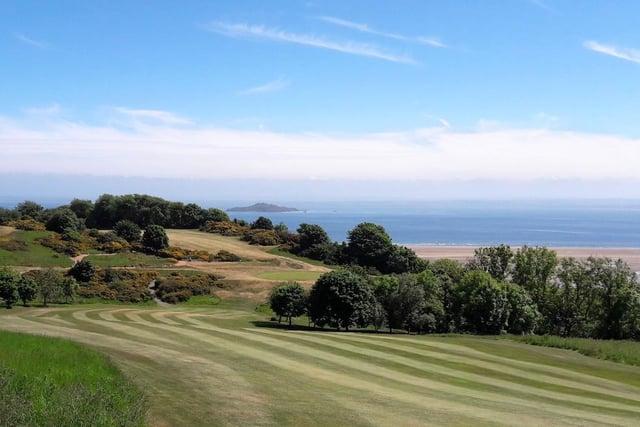 Burntisland Golf House Club boasts stunning scenery