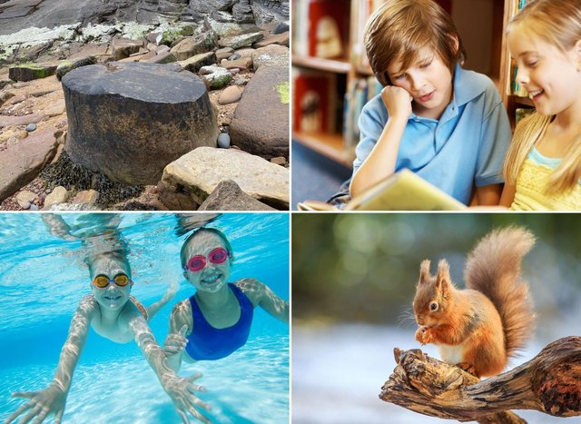 Some of the fun and free activities for children to enjoy in Fife this summer.