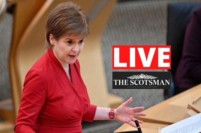 Nicola Sturgeon gives a Covid update to MSPs.