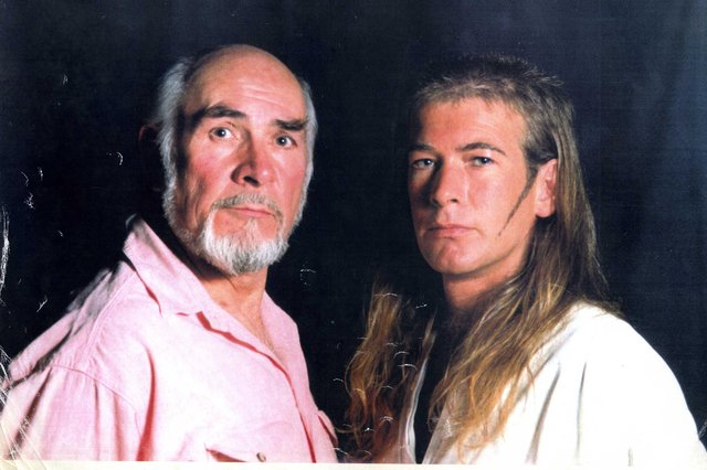 Neil Connery with Alan McLeod