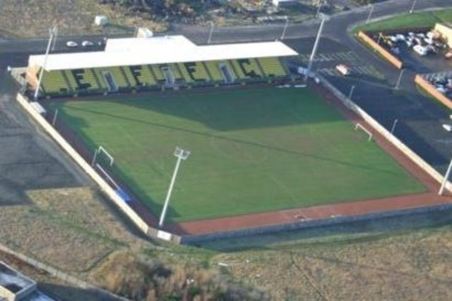 Bayview stadium in Methil