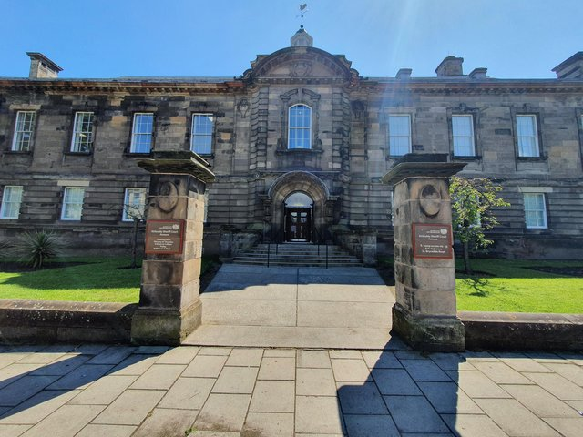 The case called at Kirkcaldy Sheriff Court.