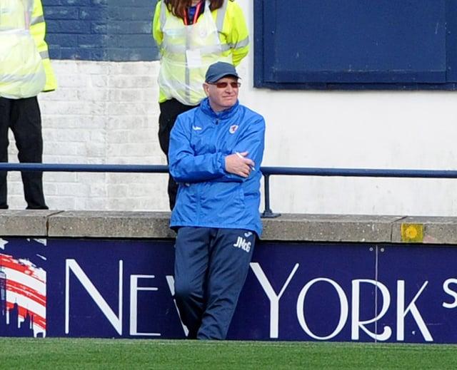 Raith boss John McGlynn (Pic: Fife Photo Agency)