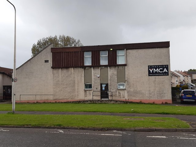 The YMCA building in Kirkcaldy had to be evacuated last night due to a fire.