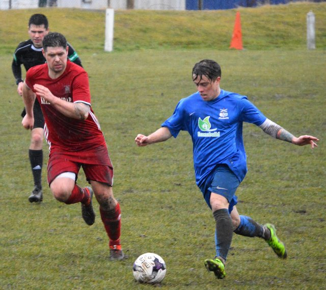 Lyall Shaw, seen here playing for previous club Kennoway, will be part of the Tayport squad as they move into the new division. Stock image