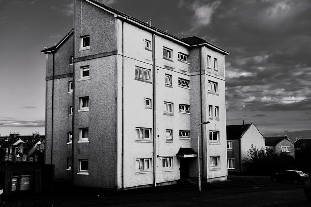 The Mayview flats in Anstruther.