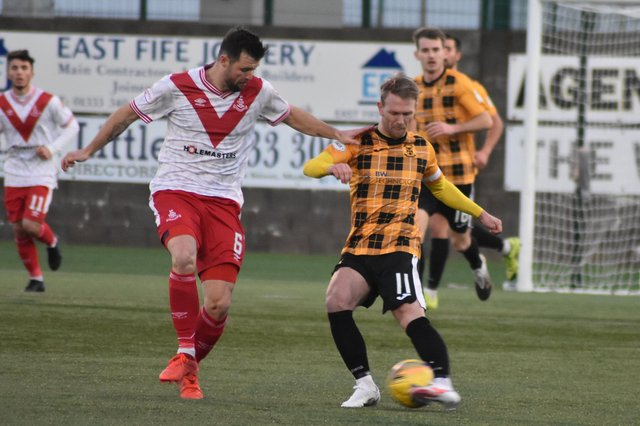 The Fifers are in Airdrie this evening for a crunch League One night