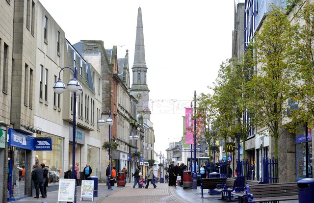 Dunfermline town centre