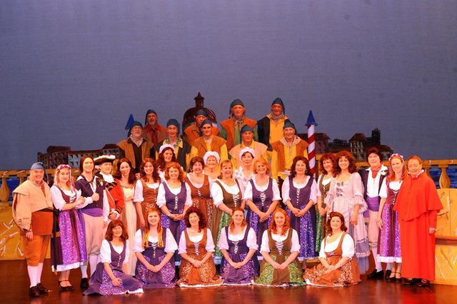 The Gondoliers - full cast
