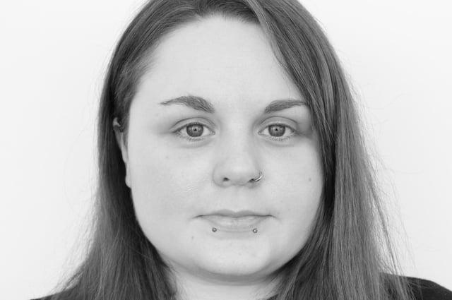 Fife College interior design student Jade-Lauren Stewart.
