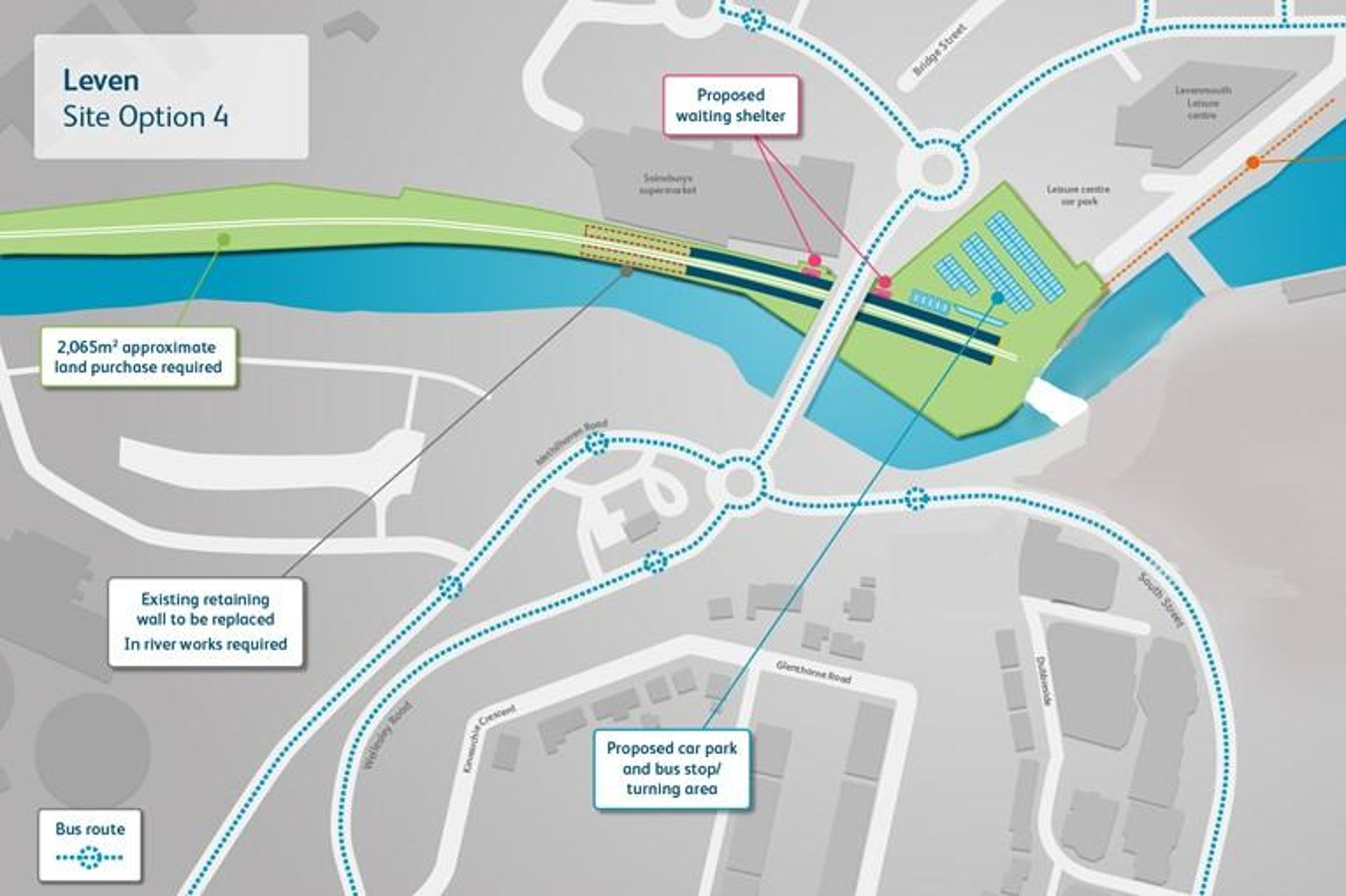 New train station sites announced for Leven line