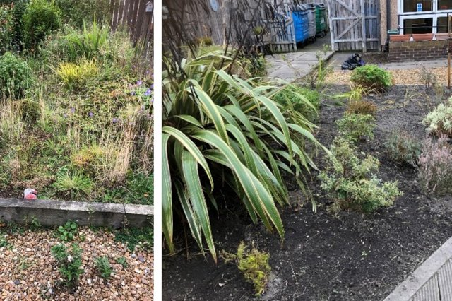Before and after at Sunnyside Court care home