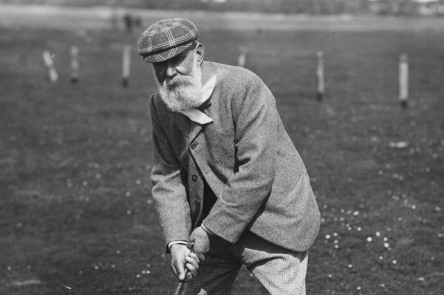 The great Old Tom Morris.  (Photo by Hulton Archive/Getty Images)