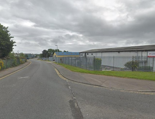 The copper theft took place at an industrial estate in Kirkcaldy. Pic: Google