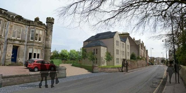 The proposed development in St Andrews