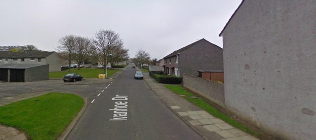 The body of the woman was foundnear a footpath on Ivanhoe Drive in Glenrothes, Fife at around 8.05pm on Sunday, May 23 (Photo: Google Maps).