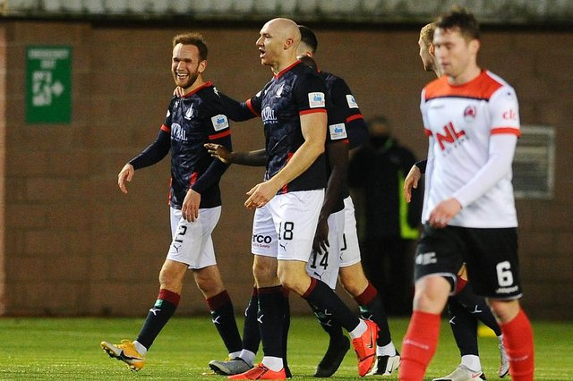 Scott Mercer has returned to Bayview following his departure from Falkirk. Pic by Michael Gillen