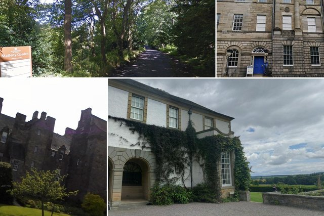The National Trust for Scotland are opening premises across Edinburgh and Fife.