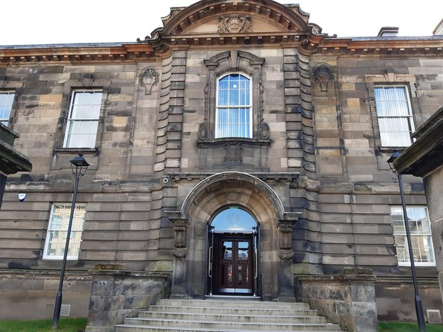 The case called at Kirkcaldy Sheriff Court recently.