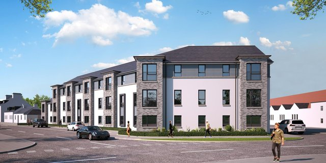 The planned scheme in Leven.