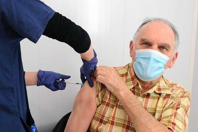 Vaccinations continue but cases are still increasing.