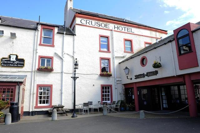 The Crusoe Hotel in Lower Largo.